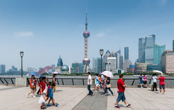 Shanghai city Royalty Free Stock Photo