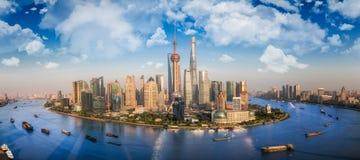 Shanghai city Stock Image
