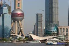 Shanghai City Skyline Stock Photography