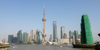 Shanghai City Skyline Stock Images
