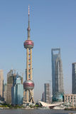 Shanghai City Skyline Royalty Free Stock Images