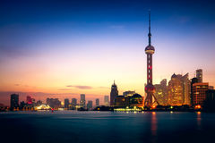 Shanghai city skyline. In the morning, Shanghai China Stock Images