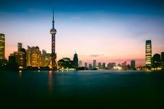 Shanghai city skyline. In the morning, Shanghai China Stock Photography