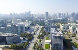 Shanghai city streetscape Royalty Free Stock Photo