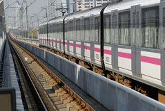 Shanghai city train Stock Photo