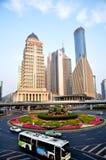 Shanghai cityscape Stock Photos