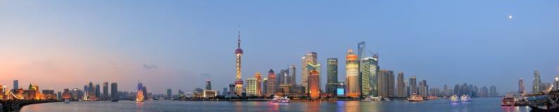 Shanghai cityscape Royalty Free Stock Photos