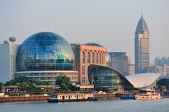 Shanghai cityscape arkivbild
