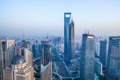 Shanghai cityscape Stock Images