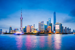 Shanghai Cityscape Stock Photo