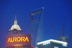 Shanghai cityscape Royalty Free Stock Image