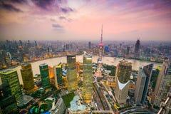 Shanghai Cityscape Stock Photography