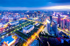Shanghai cityscape Royalty Free Stock Photography