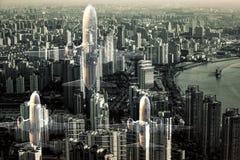 Shanghai cityscape Royalty Free Stock Photography
