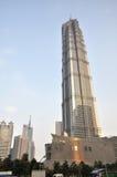 Shanghai cityscape edifice Stock Images