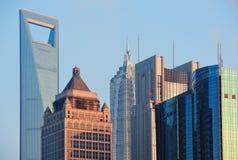 Shanghai cityscape Royalty Free Stock Photo