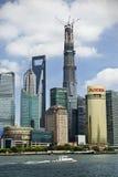 Shanghai coastline Stock Images