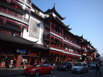 Shanghai Commercial street,Nanjing Road Stock Image