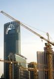 Shanghai construction crane Royalty Free Stock Photography