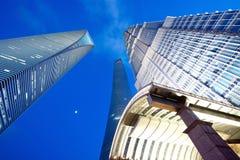 Shanghai 3 costruzioni le più alte Fotografie Stock