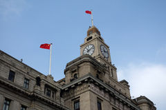 Shanghai Customs House Royalty Free Stock Images