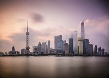 Shanghai Dawn Royalty Free Stock Photos