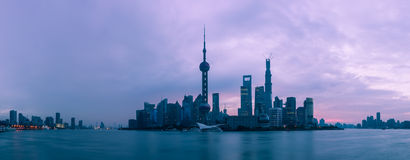 Shanghai at Dawn Stock Photo