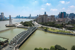 Shanghai at daytime Royalty Free Stock Image