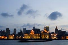 Shanghai de Dijk Stock Afbeeldingen