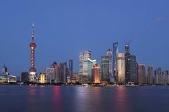 Shanghai de dijk Royalty-vrije Stock Fotografie