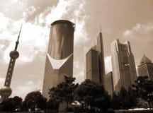 Shanghai de stad in Royalty-vrije Stock Fotografie