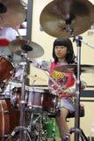 Shanghai den internationella musikinstrumentutställningen 2014 Royaltyfri Bild
