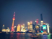 shanghai royaltyfri fotografi