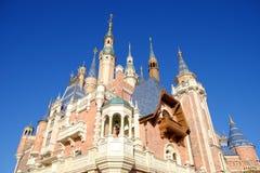 Shanghai Disney Castle Royalty Free Stock Images