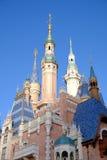 Shanghai Disney Castle Royalty Free Stock Image