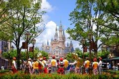 Shanghai Disney Castle Stock Photography
