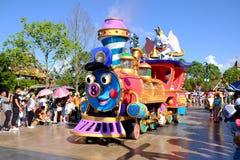 Shanghai Disneyland royalty-vrije stock fotografie