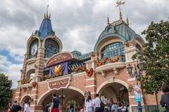 Shanghai Disneyland in Shanghai, China royalty-vrije stock fotografie