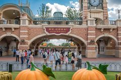 Shanghai Disneyland in Shanghai, China stock fotografie