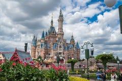 Shanghai Disneyland in China royalty-vrije stock fotografie
