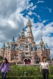 Shanghai Disneyland in China royalty-vrije stock afbeelding