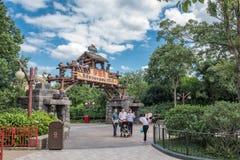 Shanghai Disneyland in Shanghai, China royalty-vrije stock foto's