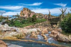 Shanghai Disneyland in Shanghai, China stock foto