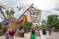 Shanghai Disneyland in Shanghai, China lizenzfreie stockfotografie