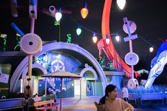 Shanghai Disneyland in Shanghai, China stock afbeelding
