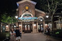 Shanghai Disneyland a Shanghai, Cina immagini stock libere da diritti