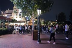 Shanghai Disneyland a Shanghai, Cina fotografie stock libere da diritti