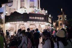 Shanghai Disneyland a Shanghai, Cina fotografia stock libera da diritti