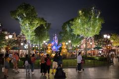 Shanghai Disneyland a Shanghai, Cina fotografie stock