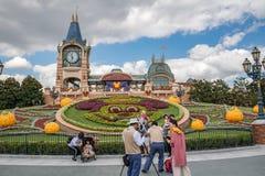 Shanghai Disneyland i Shanghai, Kina arkivbilder